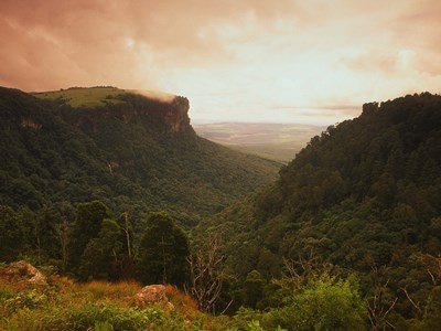 Blyde River Canyon i gyldent lys, Panoramaruten, Sydafrika