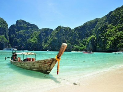Phuket Long Tail Boat, Thailand