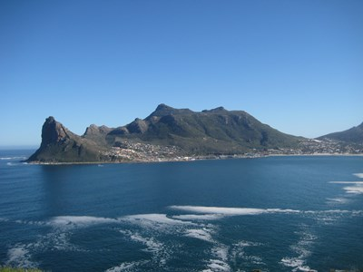 Bugten ved Hout Bay, Cape Town, Sydafrika