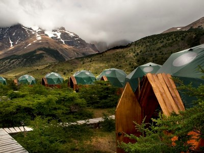 EcoCamp, Patagonien, Chile