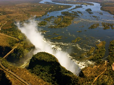 Smoke that thunders, Victoria Falls, Zimbabwe