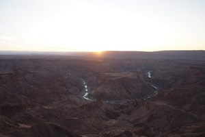 Fish River Canyon i det sydlige Namibia