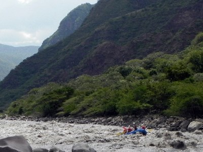 Riverrafting, Colombia