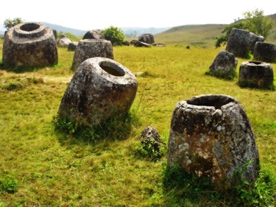 Plain of Jars ved Phonsavan