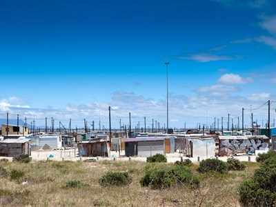 Township i Cape Town