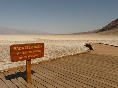 Bad Water Basin i Death Valley