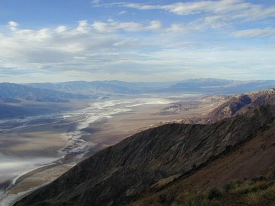 Saltslette i Death Valley