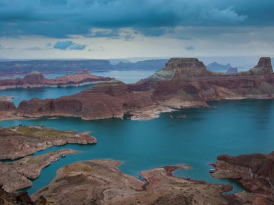 Skyer over Lake Powell
