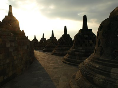 Borobodur, Java, Indonesien