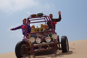 Buggy ved Paracas